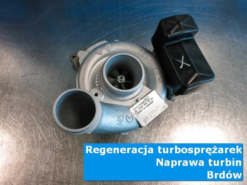 Turbina po regeneracji w nowoczesnej pracowni z Brdowa