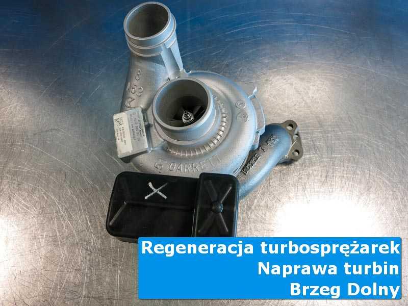 Turbosprężarka po regeneracji w pracowni w Brzegu Dolnemu