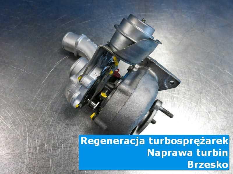 Turbosprężarka po naprawie w autoryzowanej pracowni z Brzeska
