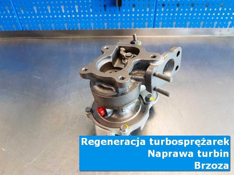 Turbosprężarka po regeneracji w laboratorium z Brzozy