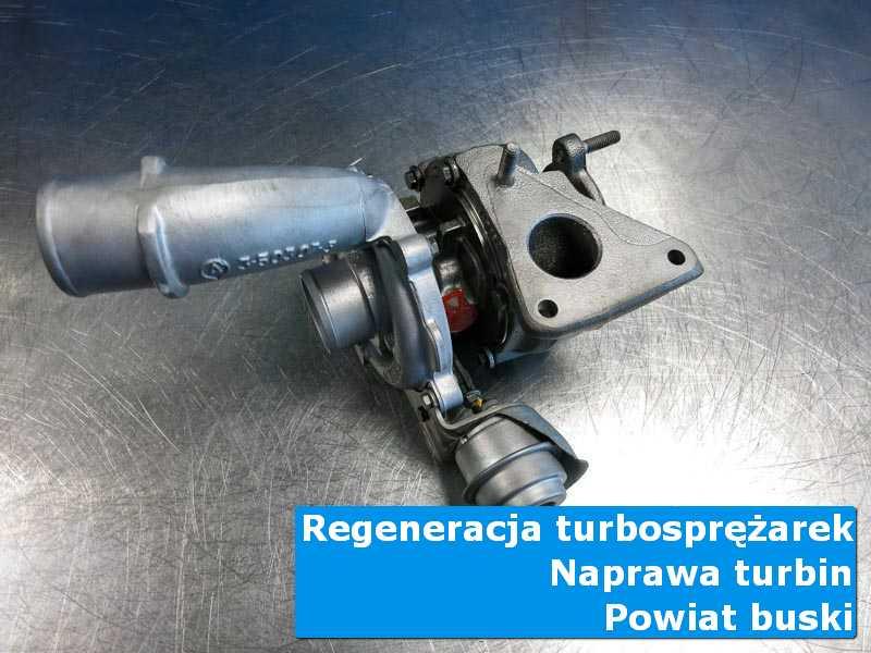 Turbosprężarka po regeneracji w autoryzowanym serwisie, powiat buski