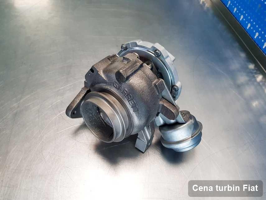 Turbosprężarka do samochodu osobowego marki Fiat naprawiona w firmie gdzie realizuje się usługę Cena turbin