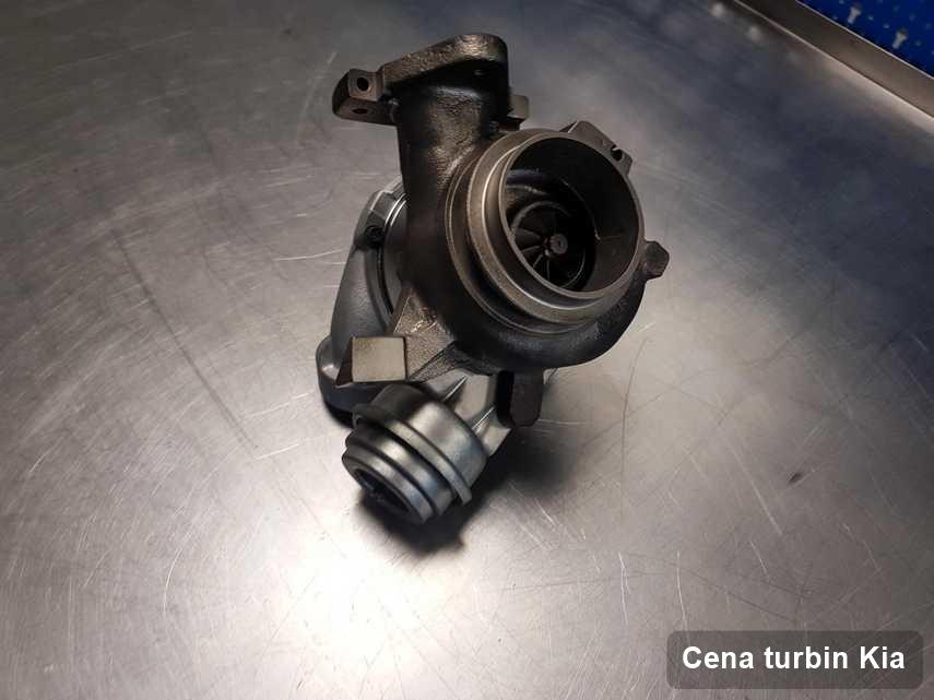 Turbosprężarka do auta spod znaku Kia wyczyszczona w firmie gdzie realizuje się usługę Cena turbin