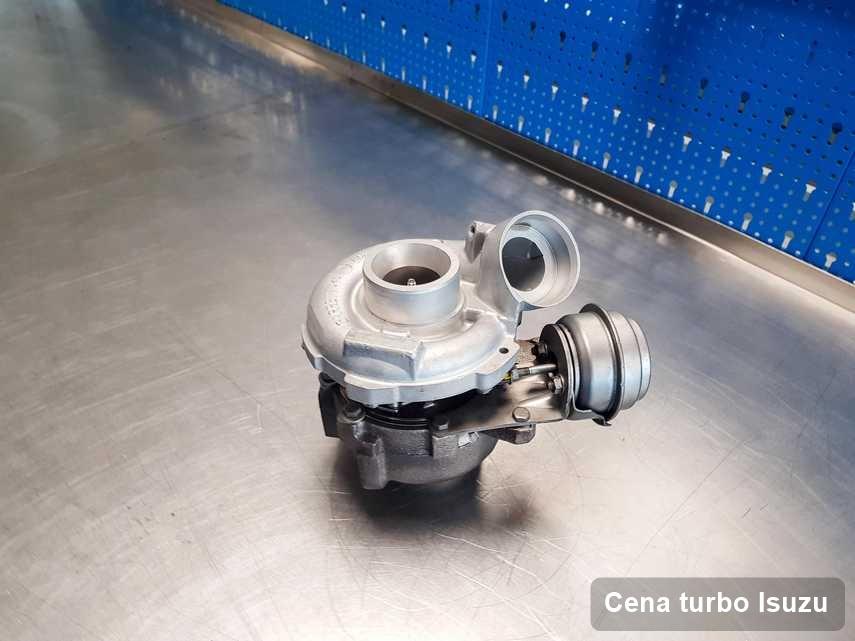 Turbosprężarka do diesla spod znaku Isuzu po naprawie w warsztacie gdzie przeprowadza się  usługę Cena turbo