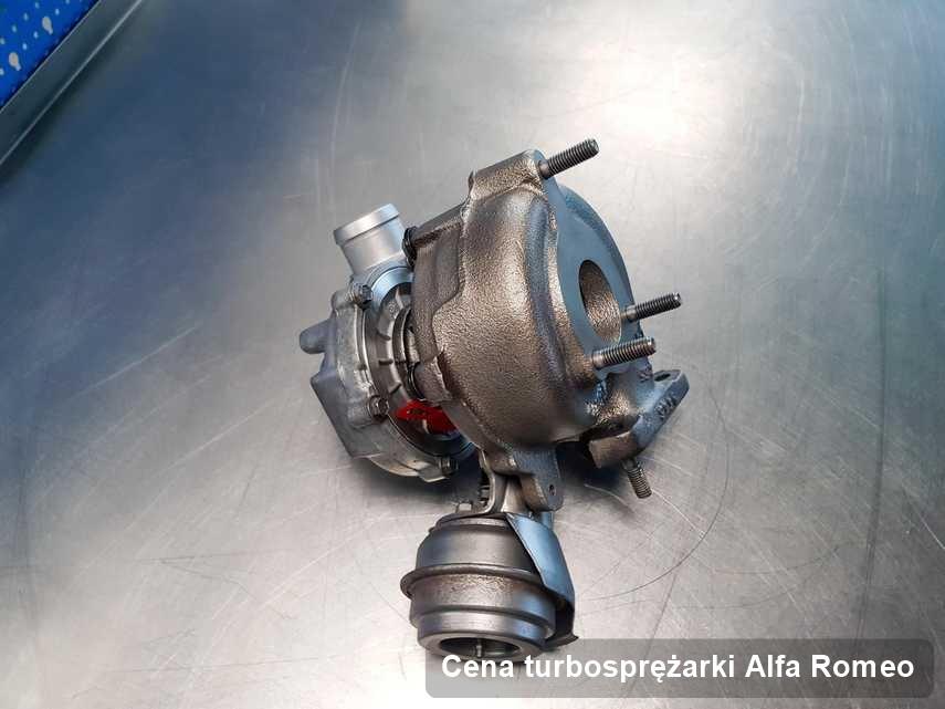 Turbosprężarka do osobówki marki Alfa Romeo wyremontowana w firmie gdzie przeprowadza się  usługę Cena turbosprężarki