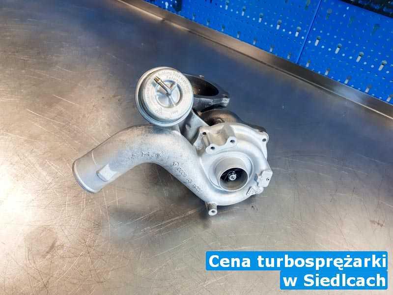 Turbina czyszczona pod Siedlcami - Cena turbosprężarki, Siedlcach