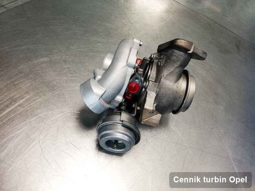 Turbosprężarka do diesla spod znaku Opel naprawiona w firmie gdzie realizuje się serwis Cennik turbin