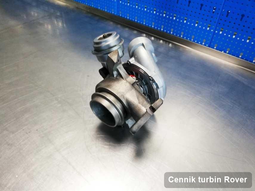 Turbosprężarka do diesla z logo Rover zregenerowana w firmie gdzie przeprowadza się  serwis Cennik turbin