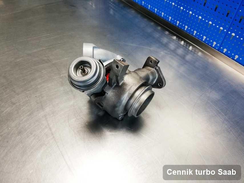 Turbina do osobówki producenta Saab zregenerowana w pracowni gdzie wykonuje się usługę Cennik turbo