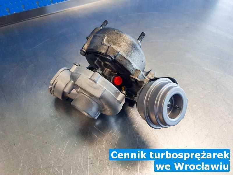 Turbosprężarki sprawdzone pod Wrocławiem - Cennik turbosprężarek, Wrocławiu