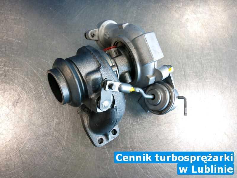Turbosprężarka czyszczona pod Lublinem - Cennik turbosprężarki, Lublinie