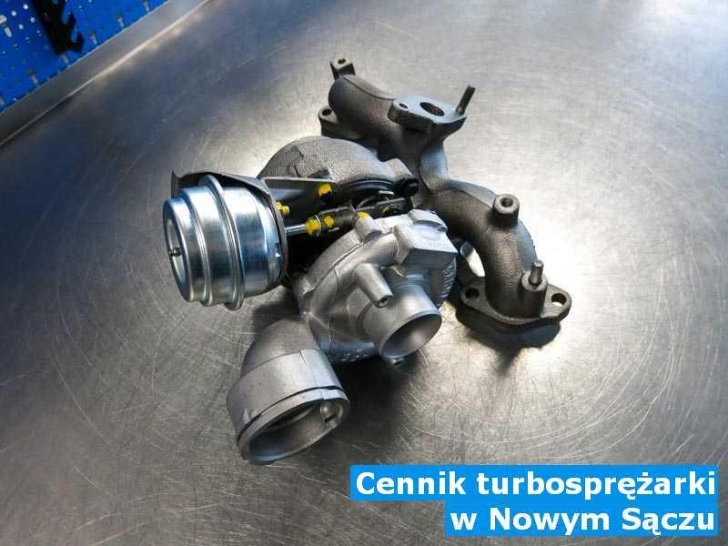 Turbina naprawiona po awarii w Nowym Sączu - Cennik turbosprężarki, Nowym Sączu