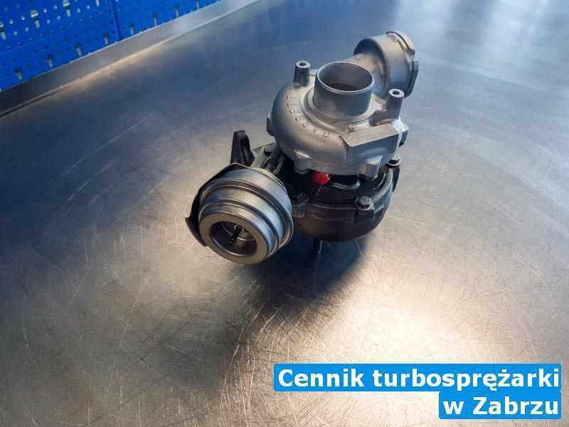 Turbina wysłana do pracowni w Zabrzu - Cennik turbosprężarki, Zabrzu
