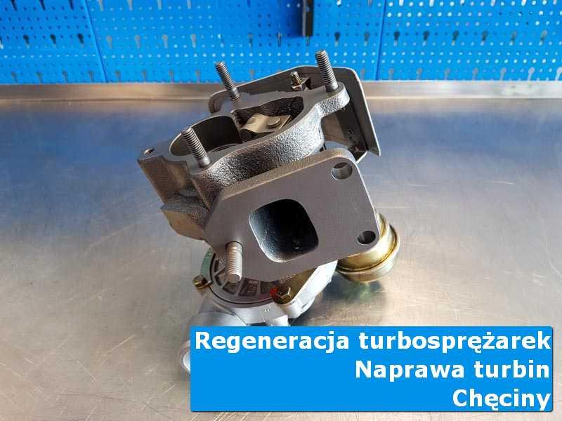 Turbosprężarka przed wysyłką w specjalistycznej pracowni w Chęcinach