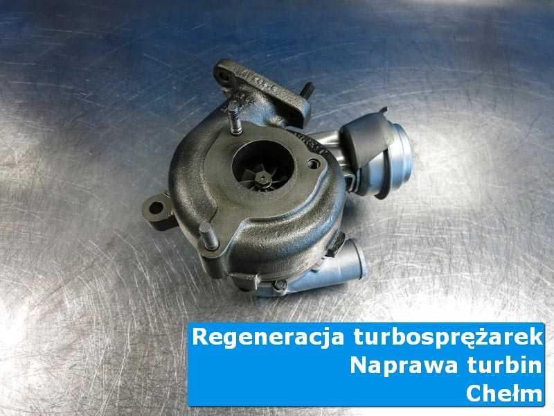 Turbosprężarka po naprawie w specjalistycznej pracowni w Chełmie