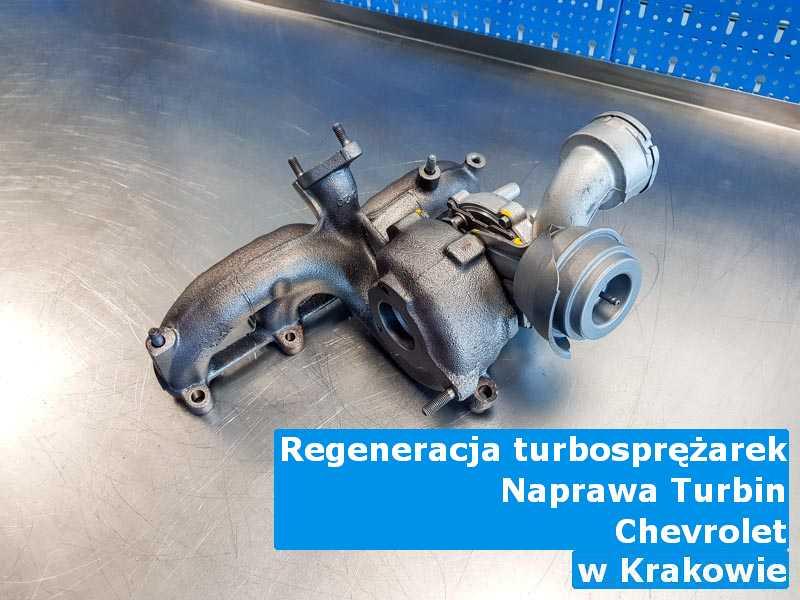 Turbina z auta Chevrolet do wymiany z Krakowa