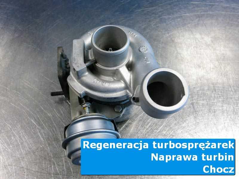 Turbosprężarka po serwisie w specjalistycznej pracowni z Chocza