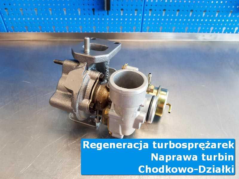 Turbosprężarka po czyszczeniu w laboratorium w Chodkowie-Działkach