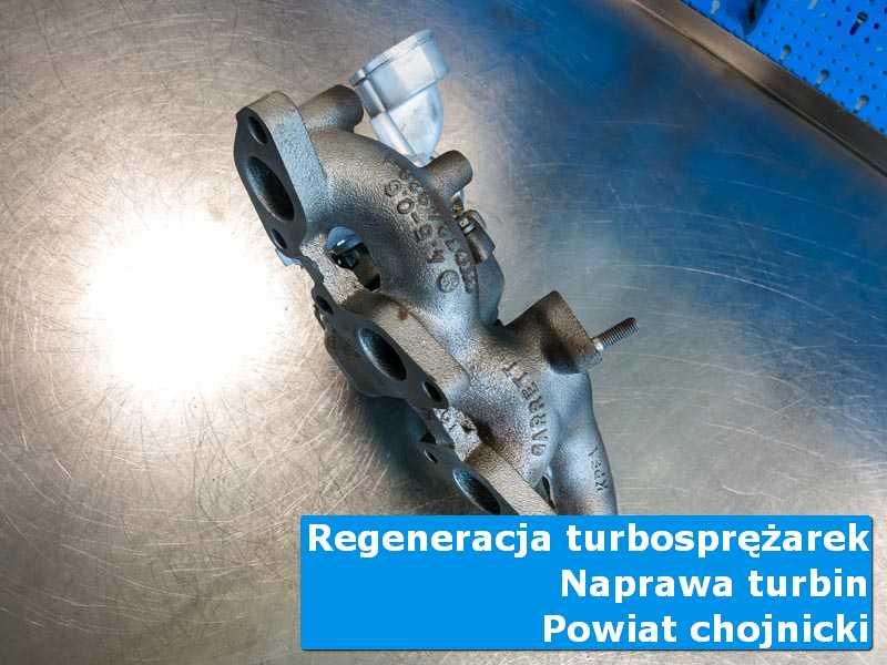 Turbosprężarka przed wysyłką w pracowni, powiat chojnicki