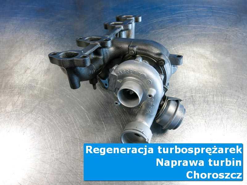 Turbosprężarka po wyważaniu w pracowni w Choroszczy
