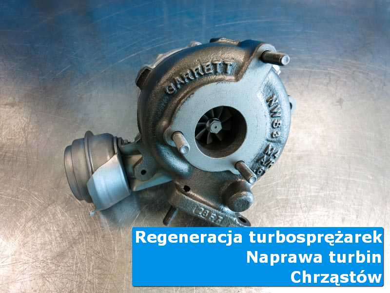 Turbosprężarka po wizycie w ASO w autoryzowanym serwisie w Chrząstowie