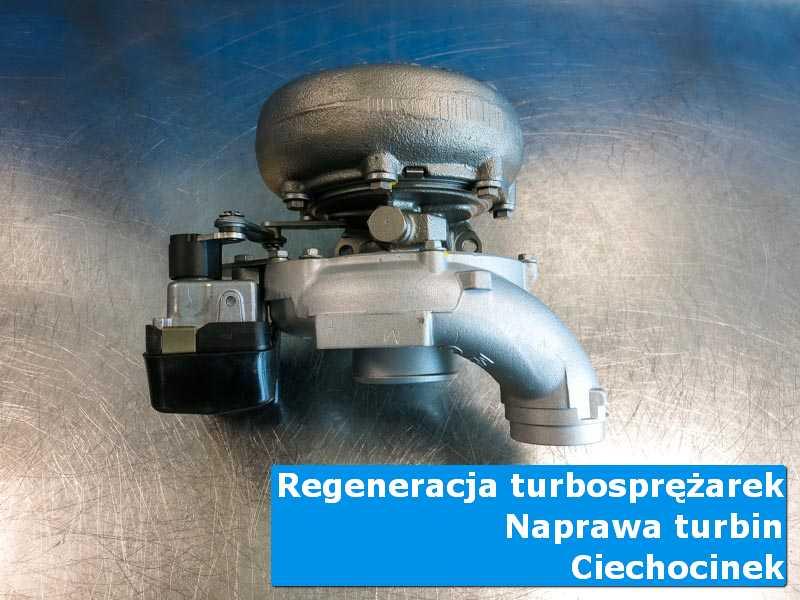 Turbosprężarka po czyszczeniu w warsztacie z Ciechocinka