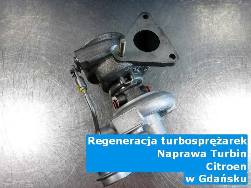 Turbosprężarka z samochodu Citroen po wizycie w pracowni pod Gdańskiem
