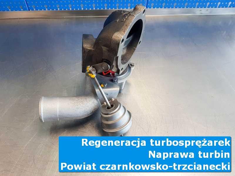 Turbina po serwisie w pracowni, powiat czarnkowsko-trzcianecki