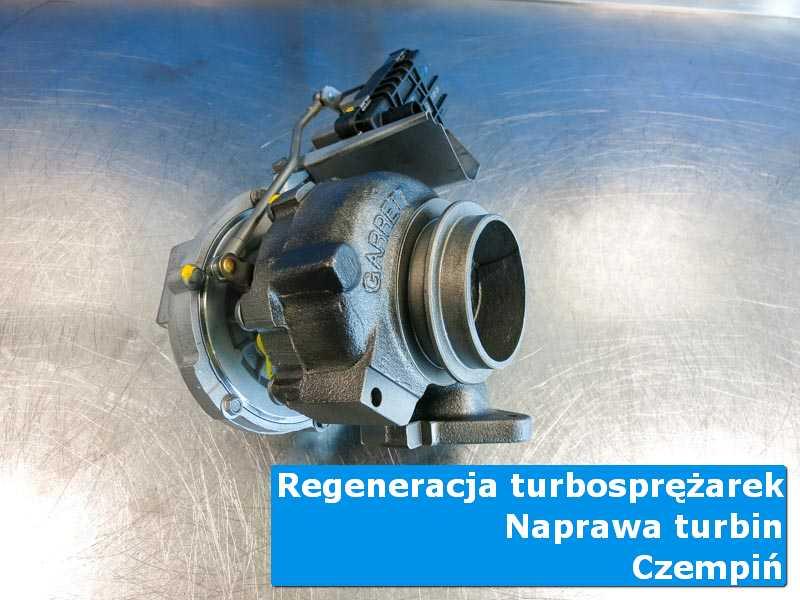 Turbina po regeneracji w profesjonalnym serwisie w Czempiniu