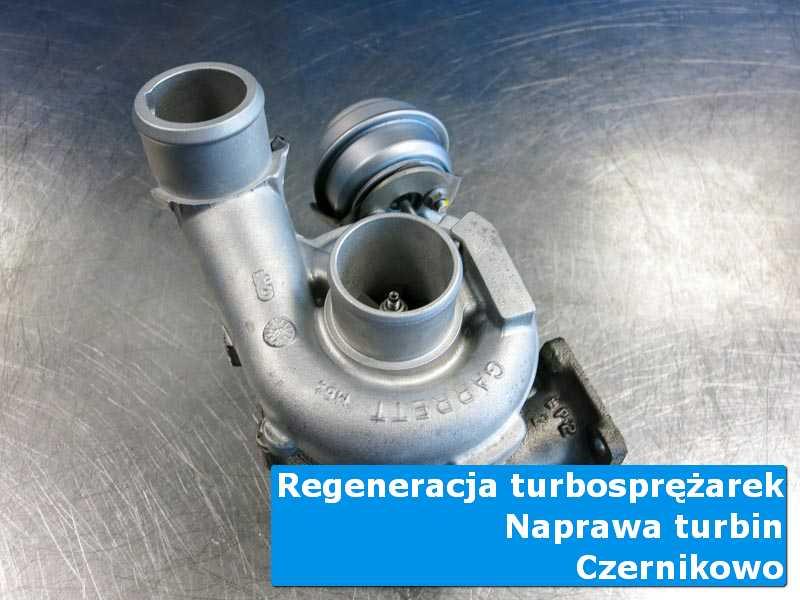 Turbo po regeneracji na stole pracowniczym w Czernikowie