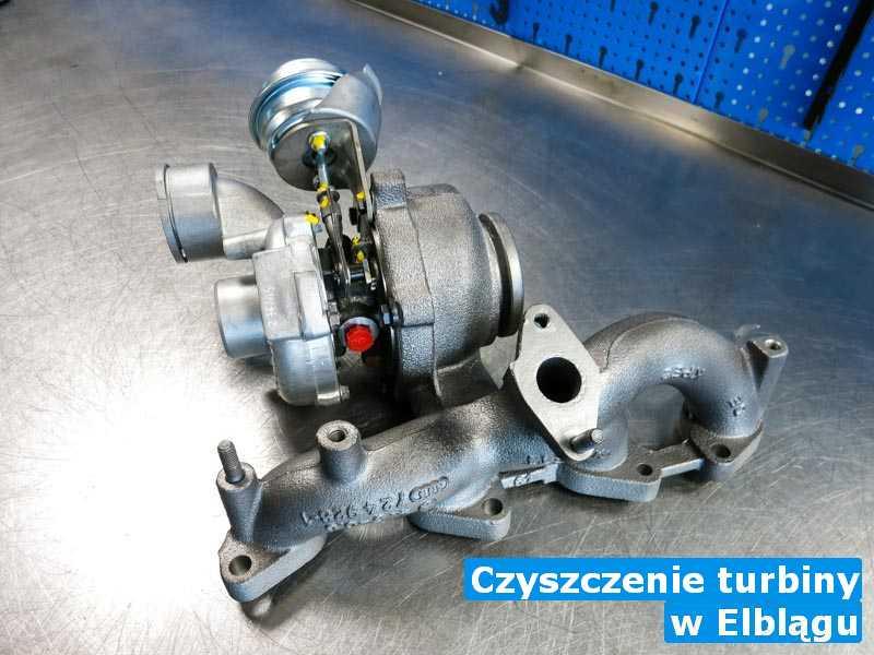Turbo wyczyszczone z Elbląga - Czyszczenie turbiny, Elblągu