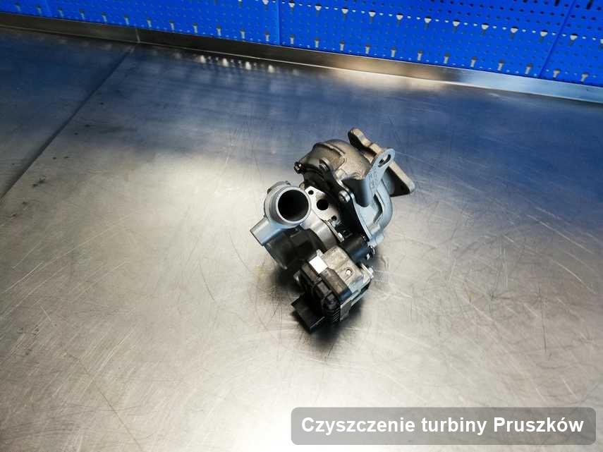 Turbosprężarka po przeprowadzeniu zlecenia Czyszczenie turbiny w warsztacie w Pruszkowie w doskonałej jakości przed wysyłką