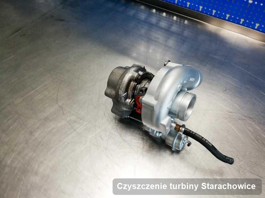 Turbosprężarka po zrealizowaniu serwisu Czyszczenie turbiny w pracowni regeneracji w Starachowicach o osiągach jak nowa przed spakowaniem
