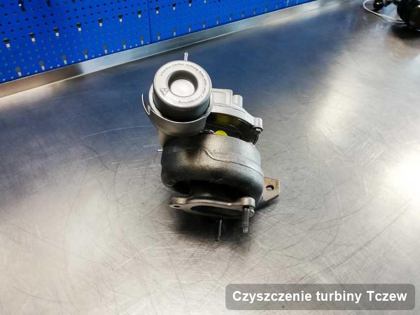 Turbosprężarka po przeprowadzeniu serwisu Czyszczenie turbiny w warsztacie w Tczewie w niskiej cenie przed wysyłką