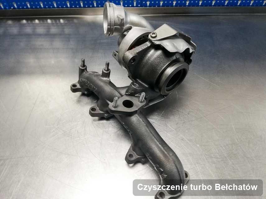 Turbosprężarka po wykonaniu usługi Czyszczenie turbo w firmie z Bełchatowa w świetnej kondycji przed wysyłką