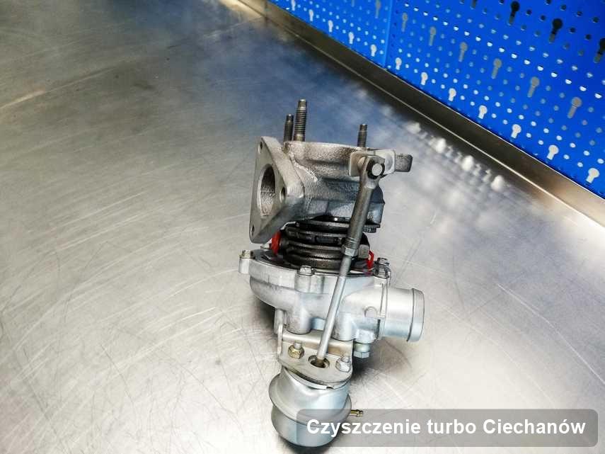 Turbina po realizacji usługi Czyszczenie turbo w warsztacie w Ciechanowie działa jak nowa przed wysyłką