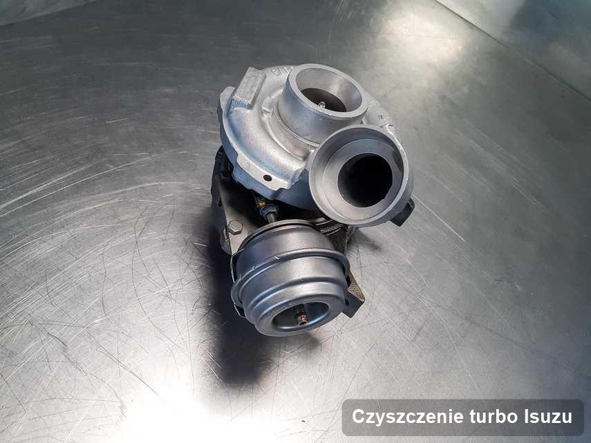 Turbina do osobówki producenta Isuzu wyremontowana w pracowni gdzie realizuje się serwis Czyszczenie turbo
