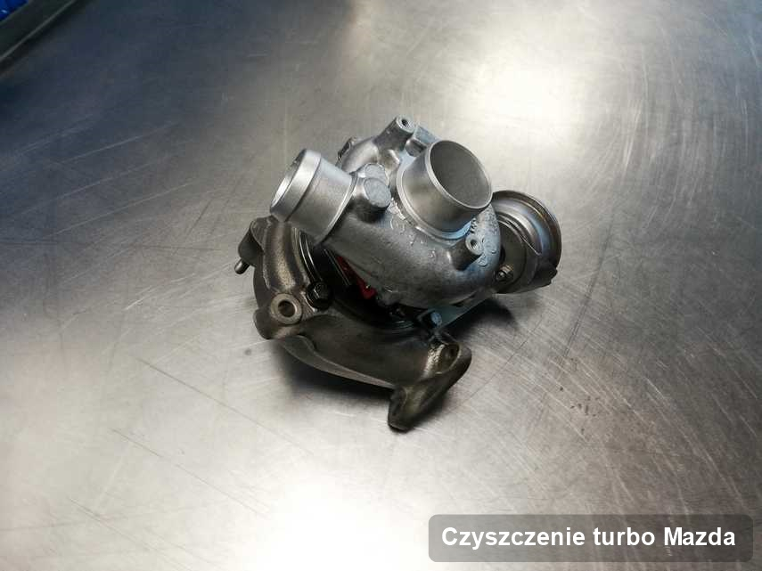 Turbina do auta producenta Mazda naprawiona w przedsiębiorstwie gdzie zleca się serwis Czyszczenie turbo
