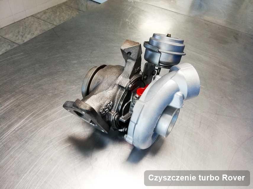 Turbosprężarka do osobówki producenta Rover zregenerowana w pracowni gdzie zleca się serwis Czyszczenie turbo