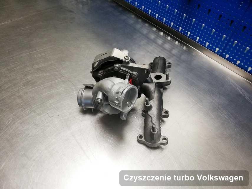 Turbina do auta marki Volkswagen wyremontowana w firmie gdzie realizuje się usługę Czyszczenie turbo