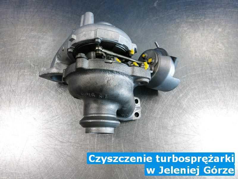 Turbosprężarka dostarczona do pracowni pod Jelenią Górą - Czyszczenie turbosprężarki, Jeleniej Górze