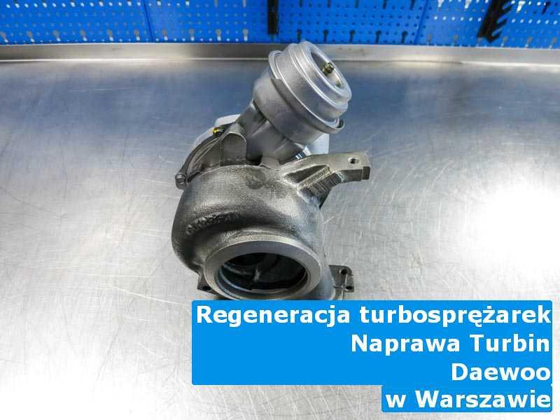 Turbosprężarki marki Daewoo po wizycie w pracowni pod Warszawą