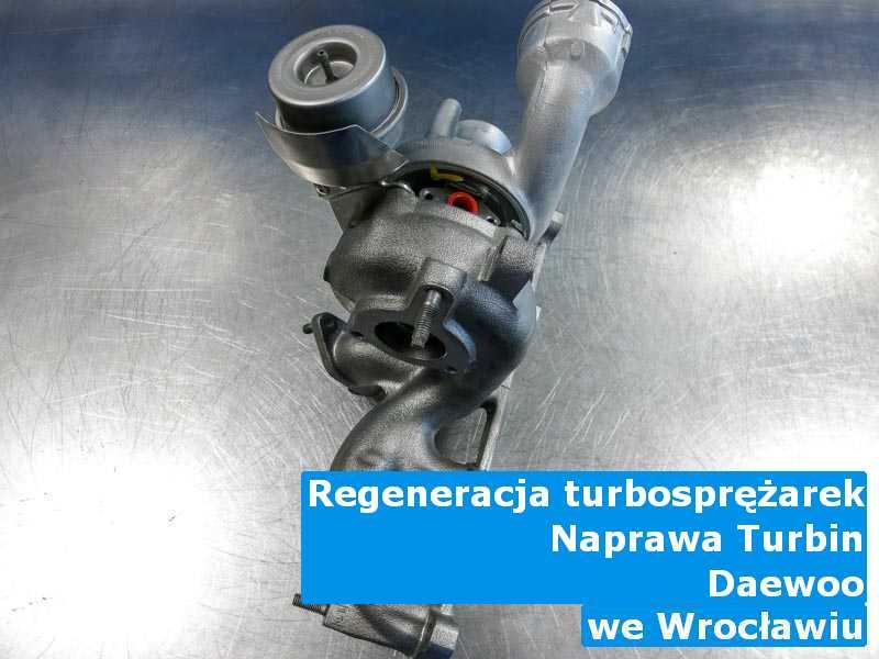 Turbosprężarki z auta Daewoo po naprawie z Wrocławia