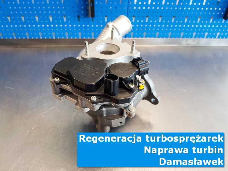 Turbosprężarka po wizycie w ASO w nowoczesnej pracowni w Damasławku