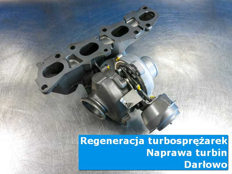 Turbosprężarka po serwisie w autoryzowanym serwisie w Darłowie