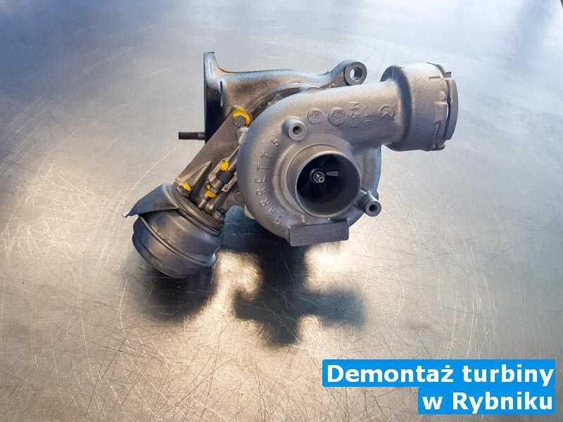 Turbo odnowione z Rybnika - Demontaż turbiny, Rybniku