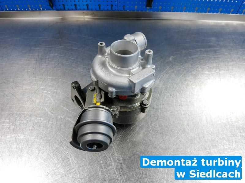 Turbosprężarka zdiagnozowana pod Siedlcami - Demontaż turbiny, Siedlcach