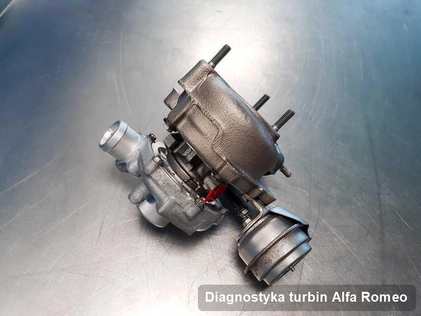 Turbosprężarka do pojazdu producenta Alfa Romeo naprawiona w firmie gdzie realizuje się serwis Diagnostyka turbin