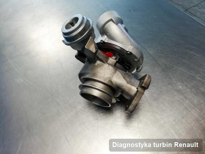 Turbosprężarka do auta producenta Renault po remoncie w firmie gdzie wykonuje się serwis Diagnostyka turbin