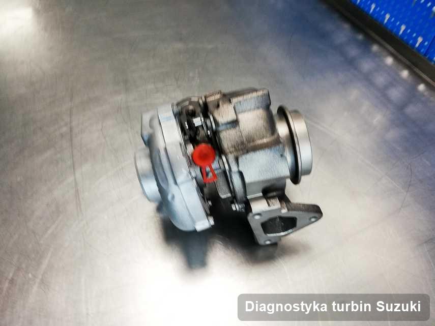 Turbosprężarka do osobówki sygnowane logiem Suzuki po remoncie w przedsiębiorstwie gdzie zleca się usługę Diagnostyka turbin